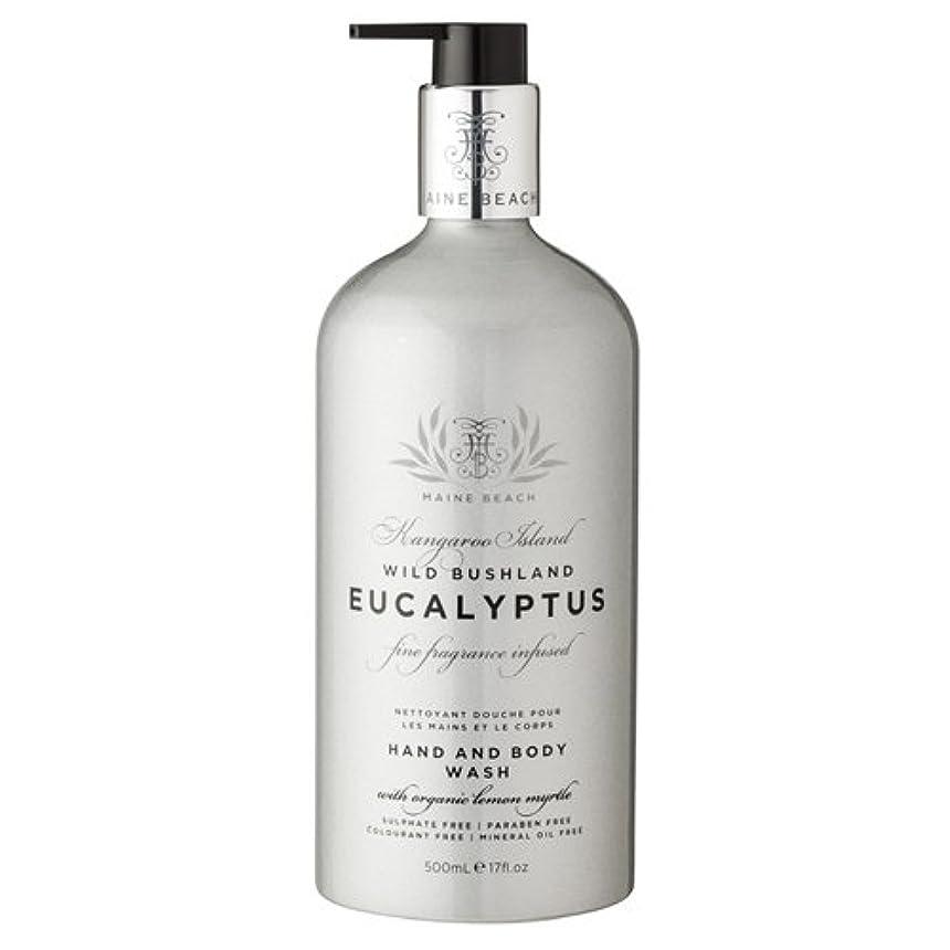 寛解タールひまわりMAINE BEACH マインビーチ Eucalyptus Series ユーカリオイル ハンド&ボディウォッシュ
