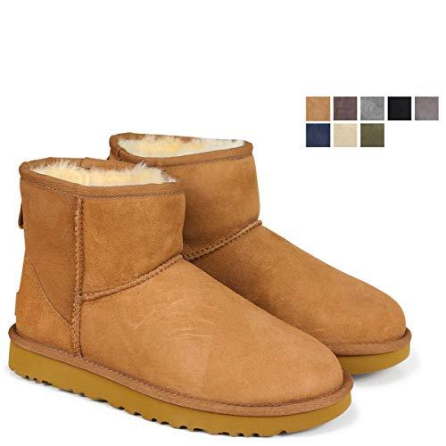 [アグ] WOMENS CLASSIC MINI II ムートン ブーツ クラシック ミニ 2 5854 1016222 US5(約22.0cm) CHOCOLATE