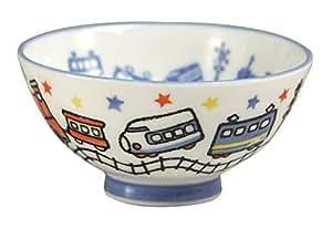 みのる陶器 Kids碗 電車