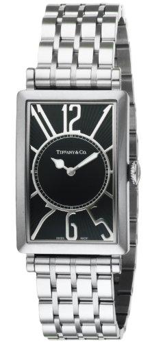 [ティファニー]Tiffany&Co. 腕時計 Gallery ブラック文字盤 Z3002.10.10A10A00A メンズ 【並行輸入品】