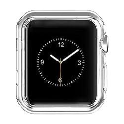 HOCO Apple Watch Series 2 ケース 透明TPUケース 耐衝撃性 超簿 脱着簡単 アップル ウォッチ シリーズ2 クリア 38mm