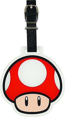 Enjoy Caddie Bag(エンジョイキャディーバッグ) スーパーマリオシリーズ スーパーマリオ アクリルネームプレート(キノコ) SMNP003  SMNP003