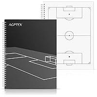 サッカーノート スコアブック 作戦ノート 両面印刷 AGPTEK 【A4サイズ】