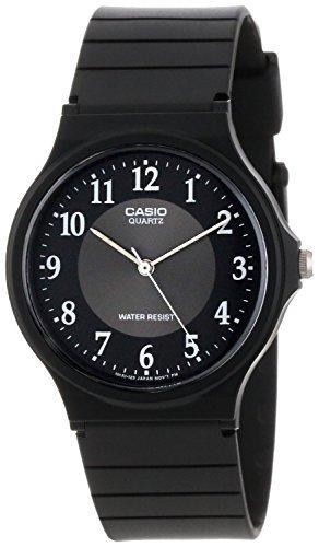 [カシオ]CASIO 腕時計 BASIC ANALOGUE MQ-24-1B3LCK メンズ [逆輸入]