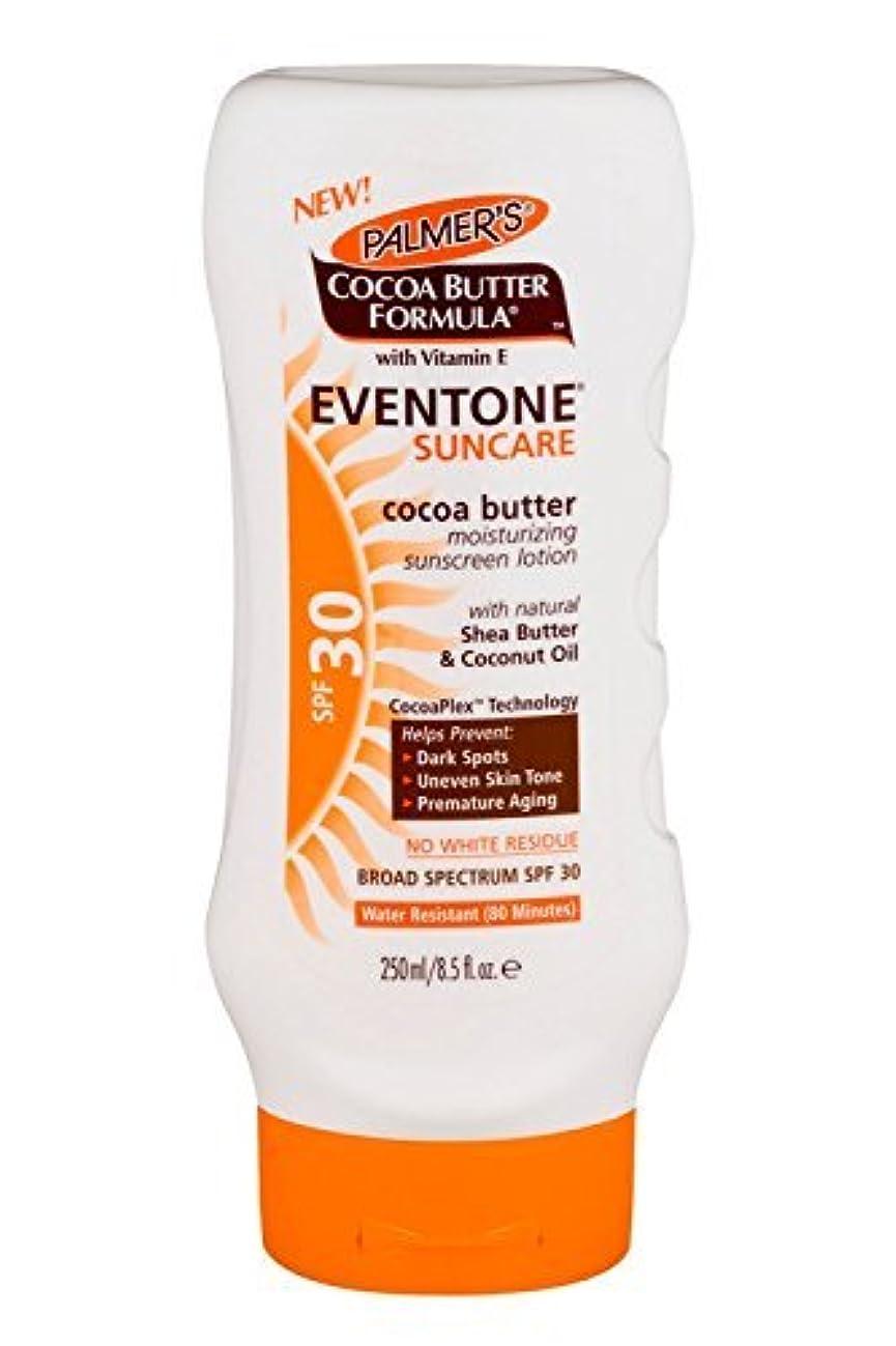 仕事蒸麻痺Palmer's Cocoa Butter Formula With Vitamin E, Eventone Suncare Sunscreen Lotion, SPF 30, 8.5 Fl Oz by Palmer's