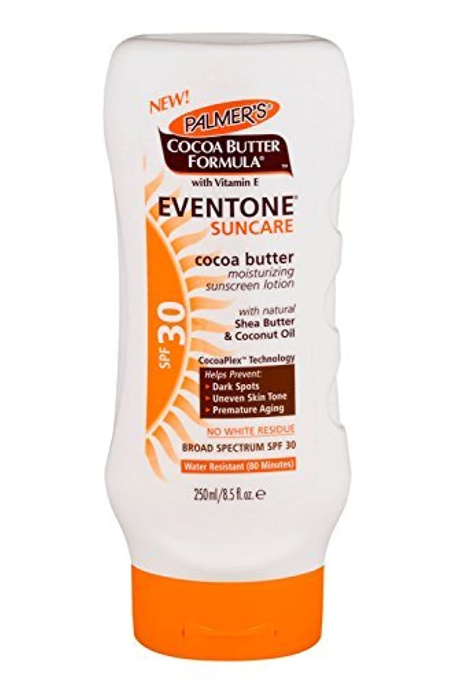 パック伸ばす羽Palmer's Cocoa Butter Formula With Vitamin E, Eventone Suncare Sunscreen Lotion, SPF 30, 8.5 Fl Oz by Palmer's
