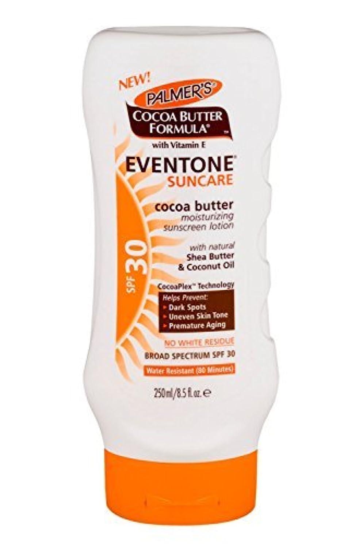歴史お父さんセットするPalmer's Cocoa Butter Formula With Vitamin E, Eventone Suncare Sunscreen Lotion, SPF 30, 8.5 Fl Oz by Palmer's