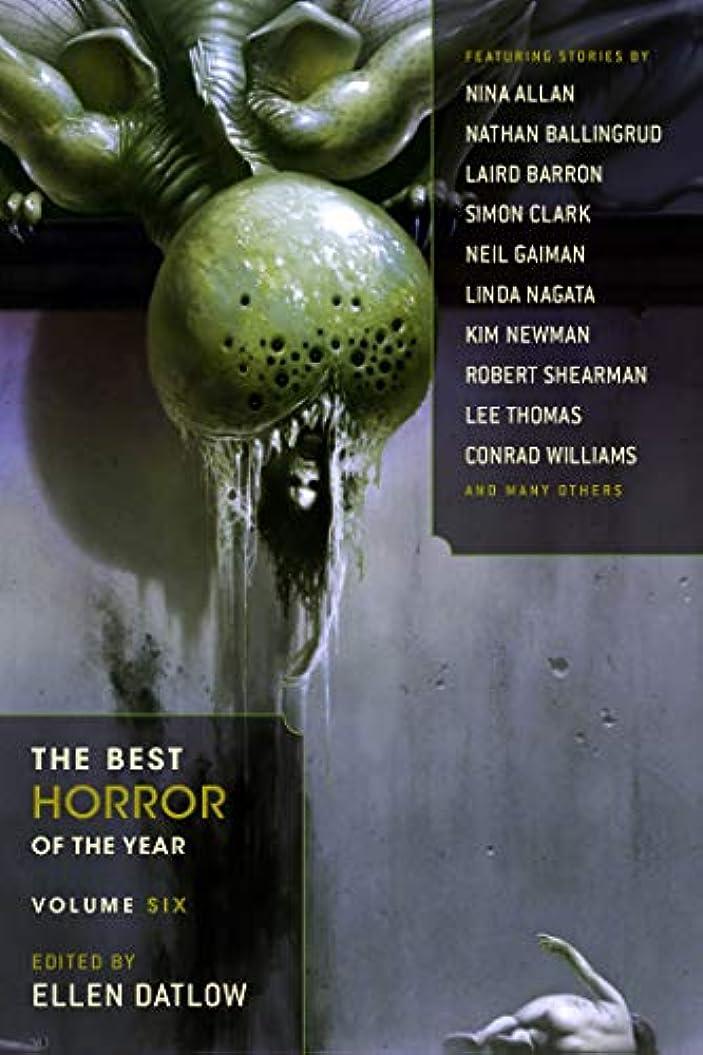 グローバルより多いバックグラウンドThe Best Horror of the Year Volume 6