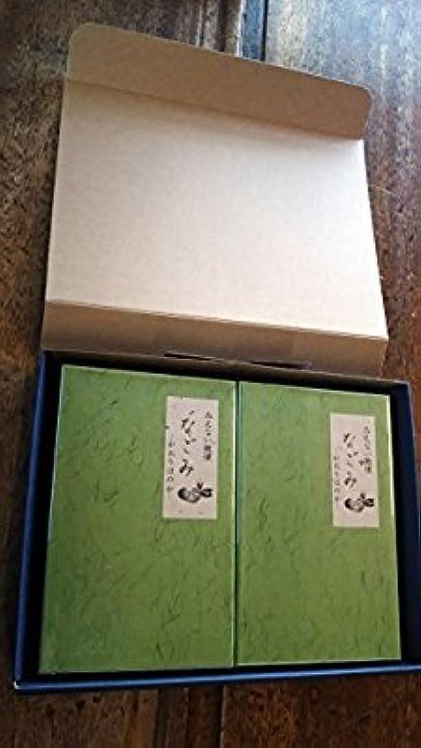 プレビューコンサルタント頼る淡路梅薫堂のお線香 なごみ 135g お線香贈答用 お供え物 (1セット(2箱))