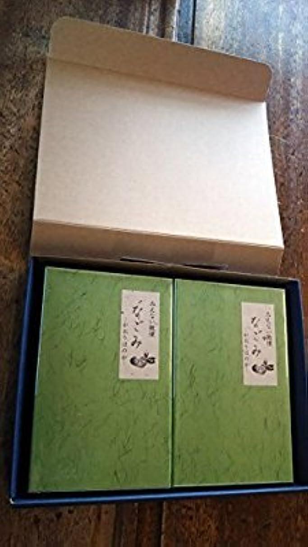 チューリップ溶岩最近淡路梅薫堂のお線香 なごみ 135g お線香贈答用 お供え物 (1セット(2箱))