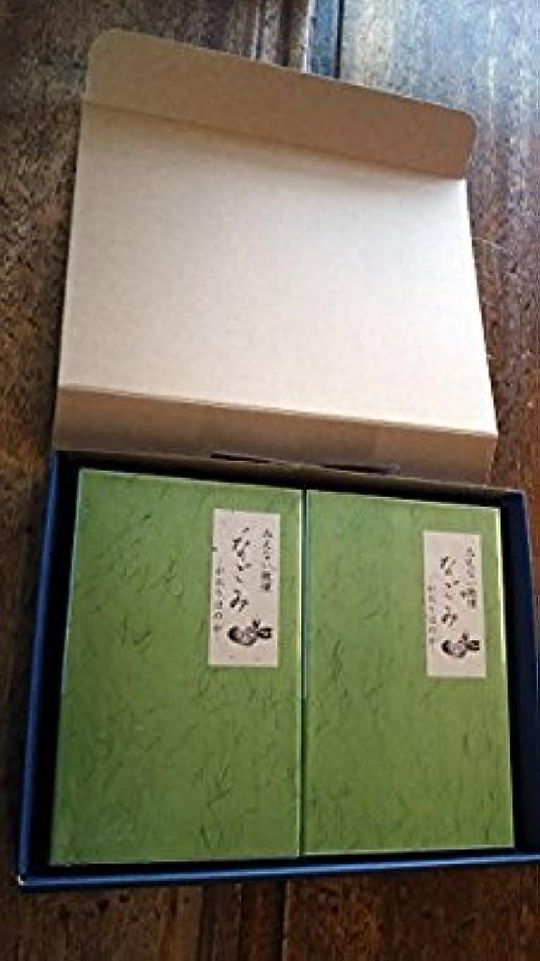 カウンターパート鳴らすブラウン淡路梅薫堂のお線香 なごみ 135g お線香贈答用 お供え物 (1セット(2箱))