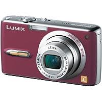 パナソニック デジタルカメラ LUMIX FX07 コンフォートレッド DMC-FX07-R