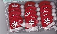 3dクリスマスフェルトサンタ帽子