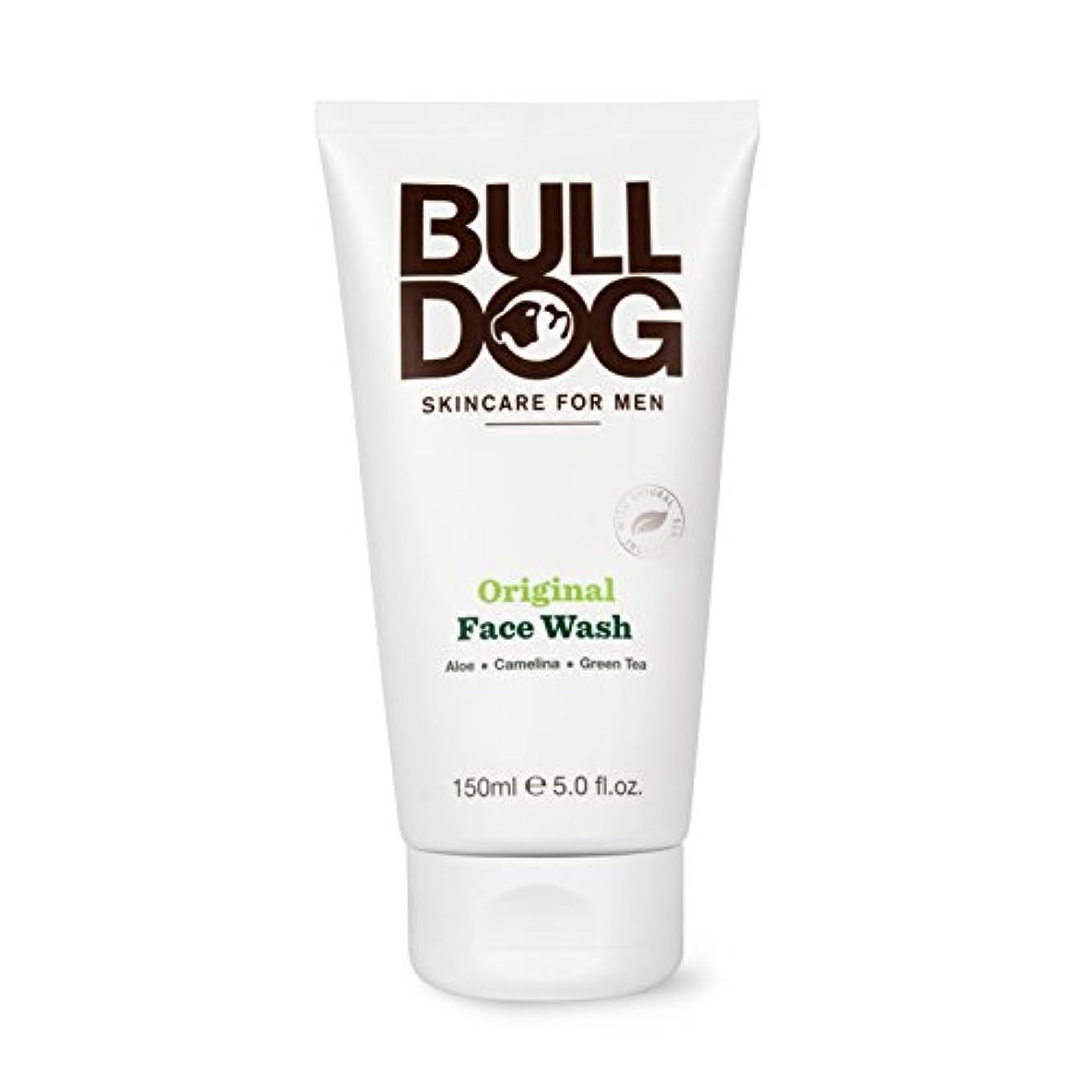 ショッピングセンター戦術費用ブルドッグ Bulldog オリジナル フェイスウォッシュ(洗顔料) 150mL