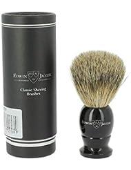 エドウィンジャガー ベストバッジャーアナグマ毛 ライトホーンシェービングブラシ小9EJ876[海外直送品]Edwin Jagger Best Badger Light Horn Shaving Brush Small 9EJ876...