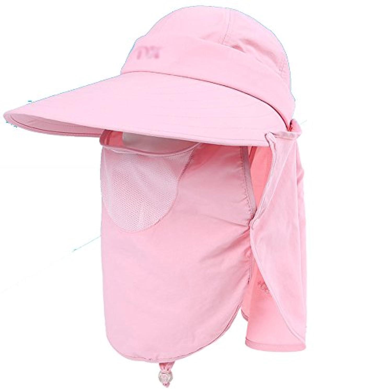 FEIFEI バイザーハット 日焼け止め UV保護 アウトドア 折りたたみ可能 (色 : A)