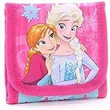 Disney (ディズニー) アナと雪の女王 Frozen アナ エルサ お財布 コインケース 子供用 女の子用 2つ折り