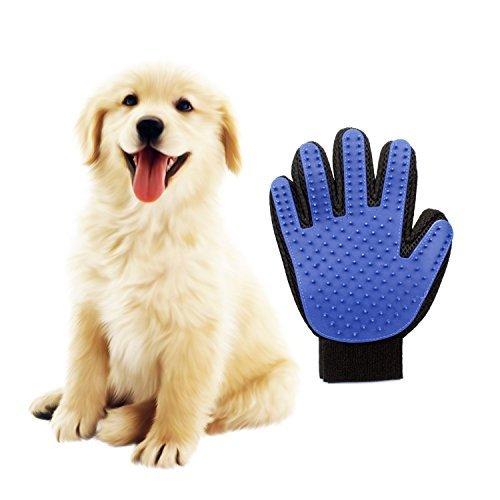 [ Libero]ペット ブラシ 手袋 グローブ 犬と猫に使える お手入れ 抜け毛 ペット用【右手】