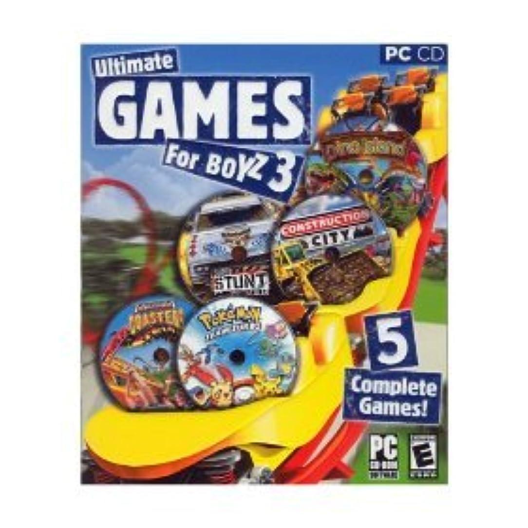 韓国語項目読者PC Ultimate Games for Boyz 3 (輸入版)