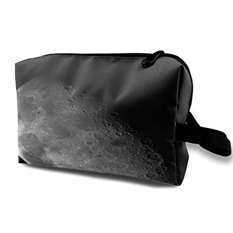 スラム街労苦注文Moon In Darkness 収納ポーチ 化粧ポーチ 大容量 軽量 耐久性 ハンドル付持ち運び便利。入れ 自宅・出張・旅行・アウトドア撮影などに対応。メンズ レディース トラベルグッズ