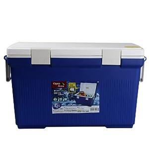 アイリスオーヤマ クーラーボックス ブルー/ホワイト CL45BL