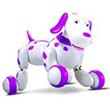 ロボット犬インタラクティブおもちゃ–RCスマートロボット犬は、歌うダンスWalk by coerni 13.4 x 10.22 x 9 inches ピンク OBH-4H4H