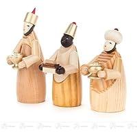 3 人の王の x の深さ 3 cmx8 cmx2,5 cm の鉱石山のクリスマスの装飾のテーブルの装飾の未塗装の幅 X の高さの誕生そして付属品の聖者