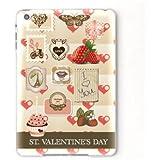 iPad mini カバー ケース アイパッド ミニ Apple バレンタイン イニシャルT