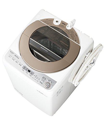 シャープ 全自動洗濯機 10kgタイプ ブラウン系 ESGV10B-T
