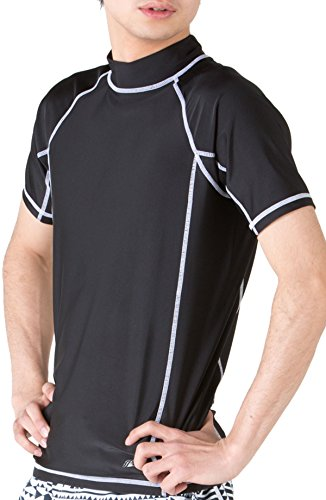 PONTAPES(ポンタペス) 全5色柄 ラッシュガード Tシャツ タイプ メンズ レディース半袖 日焼け防止 UVカット...