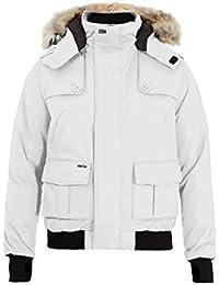 (ノビス) Nobis メンズ アウター ダウンジャケット Cartel fur-trimmed down-filled bomber jacket [並行輸入品]