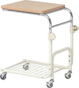 不二貿易 ベッドテーブル ホワイト BT-018WH 88856