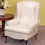 (Armchair/Recliner) - LAMINET Armchair/Recliner Cover - Clear