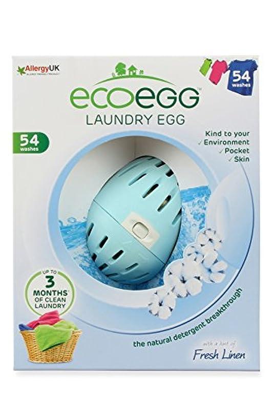 王室プール権限Ecoegg ランドリーエッグ 720ロード フレッシュリネン 54 Washes EELE54SC