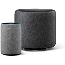 Echo Plus (エコープラス)  第2世代, ヘザーグレー + Echo Sub (エコーサブ)