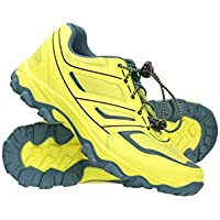 Mountain Warehouse Kids Approach Running Trainers. Indoor & Outdoor Sports Shoes for Boys & Girls. Lightweight, Durable & Breathable. Great for Walking & Hiking