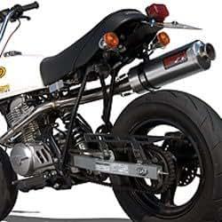 ヤマモト(YAMAMOTO) SPEC-Aマフラー APE100 RS4-124 124cc専用 アルミ レース 10066-SA124