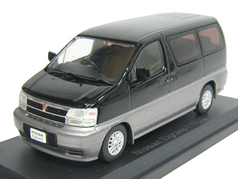 Ixo 1/43 NISSAN 日産 エルグランド ALE50型 1997 黒/銀