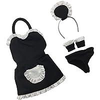Fenteer ノースリーブ 1/6スケールメイド服装セット 12インチアクションフィギュア用 女性フィギュア対応