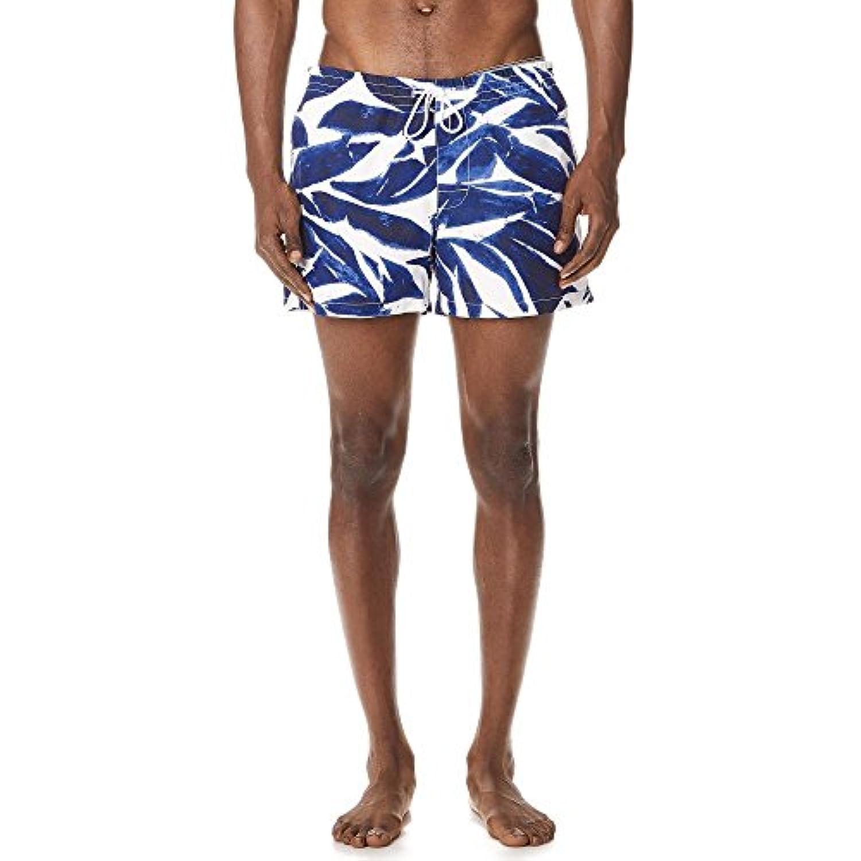 (クラブ モナコ) Club Monaco メンズ 水着?ビーチウェア 海パン Arlen Matisse Leaves Swim Shorts [並行輸入品]