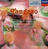 ラテン・アメリカ管弦楽曲集 / ピアソラ : タンガーソ 画像