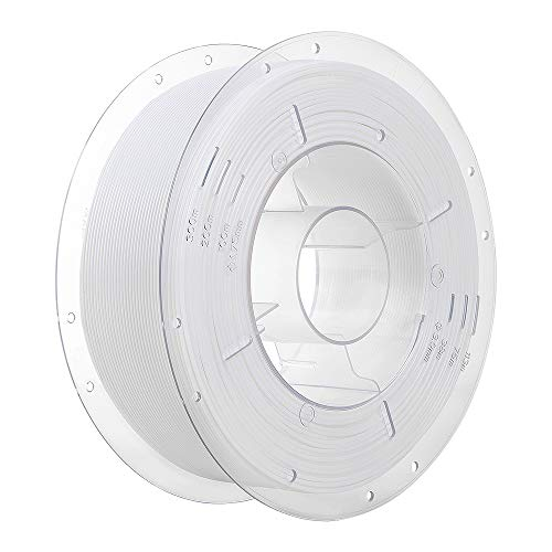 【Creality 3D 】純正品 3DプリンタフィラメントPLA 寸法精度+/- 0.02 mm、1.75mm 3Dプリンタおよび3Dペン用PLA(1KG)スプール造形材料PLA樹脂材料 (白)
