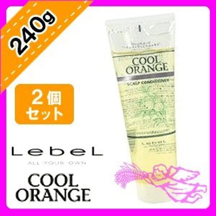 予感なぞらえる大声でルベル クールオレンジ スキャルプ コンディショナー 240g ×2個セット Lebel COOL ORANGE スキャルプケア クレンジング