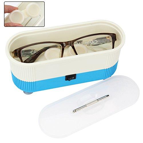 AKARUI 携帯用 音波 クリーナー メガネ コンタクトレンズ 金属アクセサリー 対応可能