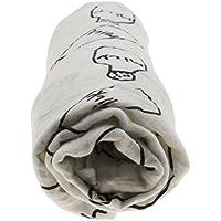 【ノーブランド品】モスリン 綿 毛布 新生児 ブランケット バスタオル おくるみ 動物パタン 全12パターン - #4