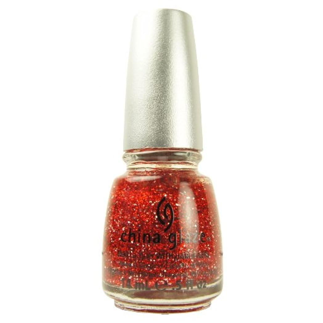 システムにじみ出るコミット(6 Pack) CHINA GLAZE Glitter Nail Lacquer with Nail Hardner - Love Marilyn (DC) (並行輸入品)