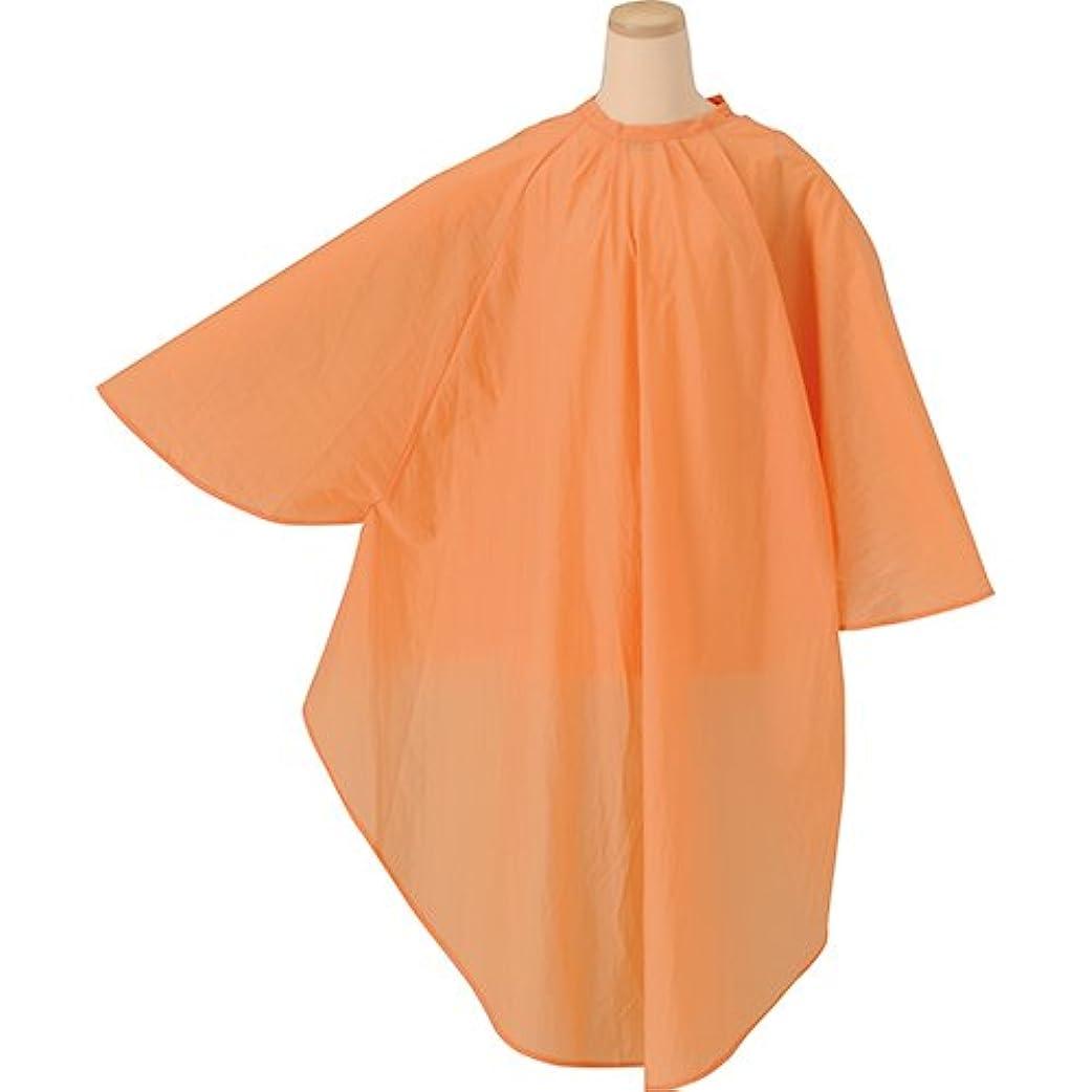 回転半円タオルTBG 袖付カットクロス CNR002S オレンジ