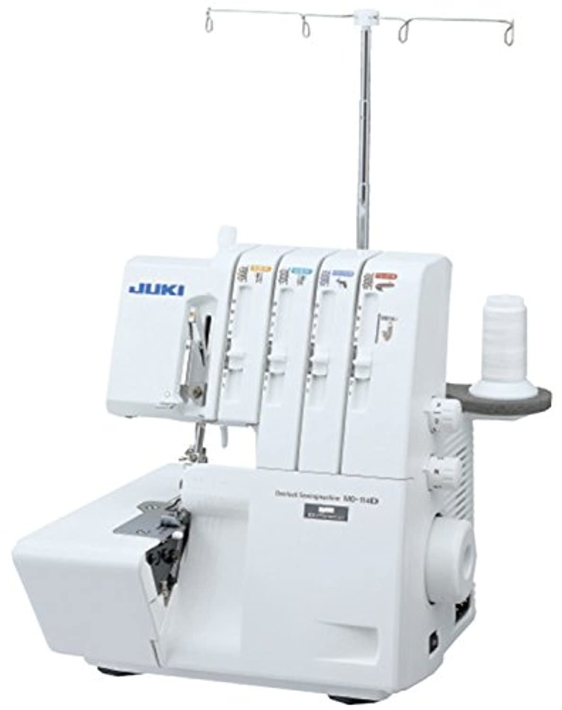 JUKI 2本針4本糸差動送り付きオーバーロックミシン MO-114D