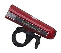Blackburn(ブラックバーン) 自転車 ライト サイクル 完全防水 防塵 IP-67 LED USB充電 コンパクト ハイパワー 200ルーメン CENTRAL [セントラル200フロントダークレッド] 7074707