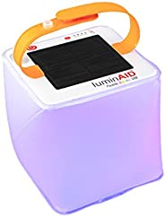 LuminAID Solar Inflatable Lanterns | Great for Camping Lantern, Emergency Light, Pool Light